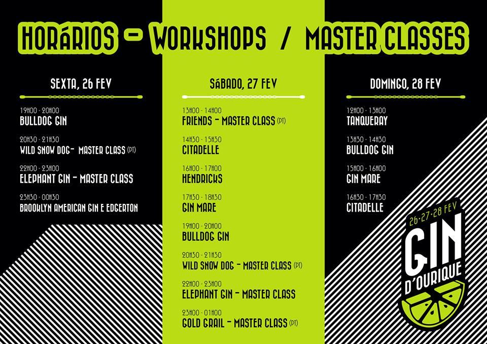 Workshops e Masterclasse