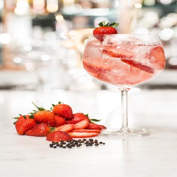 Gin-Tonico-Morango